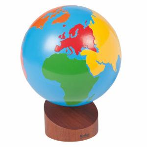 Globo de los Continentes