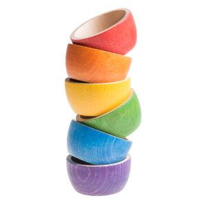 6 Cuencos de Colores