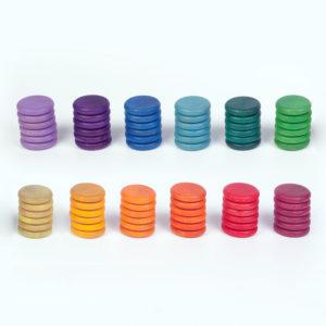 72 Monedas 12 Colores