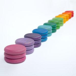 36 Monedas 12 Colores