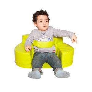 Sillón Bebé Espuma Cinturón