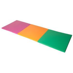 Colchoneta Plegable 3 Cuerpos Multicolor