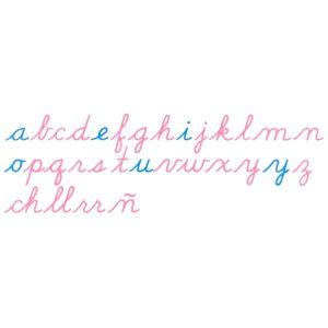 Alfabeto Móvil Grande: Letra Cursiva US (EEUU)