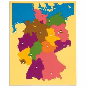 Puzzle Mapa: Alemania