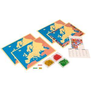 4 Mapas de Europa